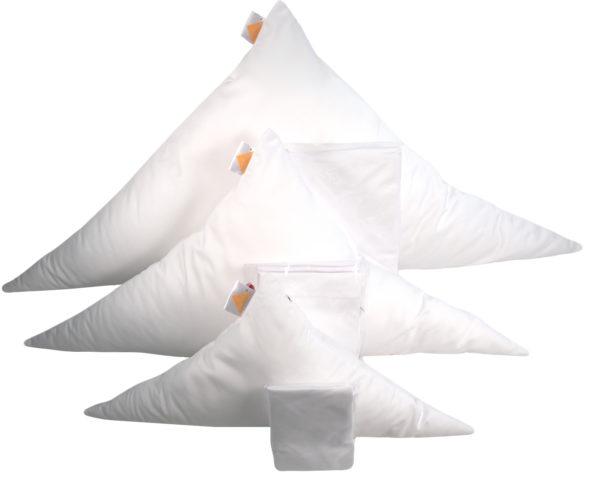 Gr.XL | majimo Dreiklang Kissen Set MIT Reißverschluss