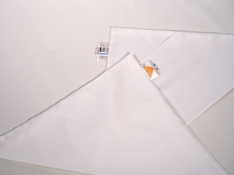 Gr.S | 2 x dreieckige kochfeste majimo Kissenbezüge in einer Packung