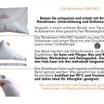 Gr. XS | Reisekissen MAJIMO | Orthopädisches & ergonomisches Nackenstützkissen Kopfkissen
