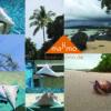 majimo Reisekissen im Urlaub Thailand mit Logo